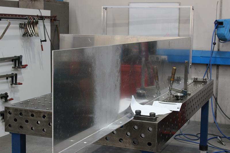 aluminium window shroud